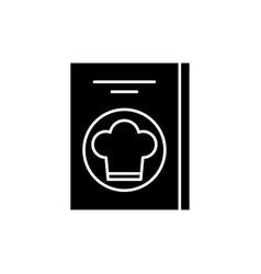 restaurant bill black icon sign on vector image