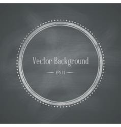 Chalkboard Retro Background vector image vector image