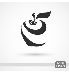 Abstract Apple Icon vector
