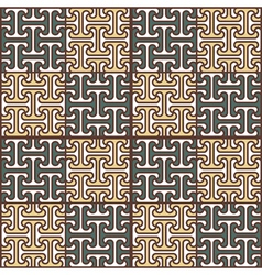 Abstract seamless pattern in Egyptian style vector image