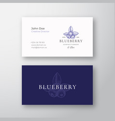 Blueberry confectionary abstract elegant vector