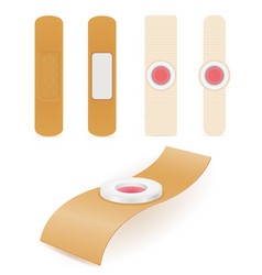 Medical plaster for sealing the wounds stock vector