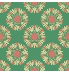 Seamless pattern in the style boho vector