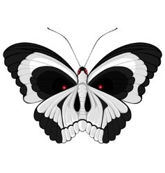 Terrible butterfly vector