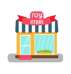 Toy store icon vector