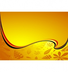 amber wave vector image vector image