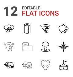 12 big icons vector