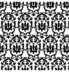 Classic style floral ornament pattern vector