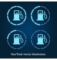 GasTank vector image
