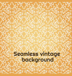 seamless damask floral pattern baroque wallpaper vector image