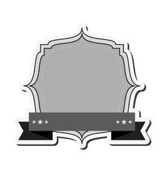 vintage style emblem icon vector image