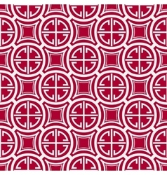 Seamless geometric pattern imitation of chinese vector