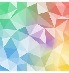 Brilliant pattern Diamond triangle background vector image vector image