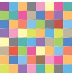 multicolored mosaic vector image
