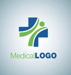MEDICAL LOGO 1 vector image vector image