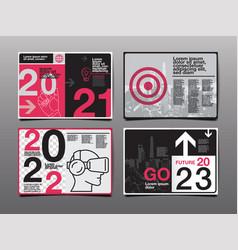 Annual report 20212022 2023 future business vector