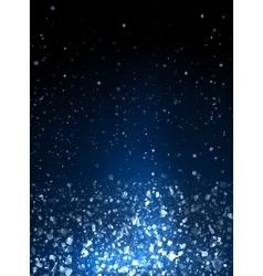Blue spotlight background vector