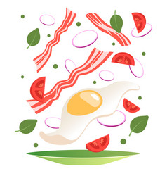 Cooking process vector