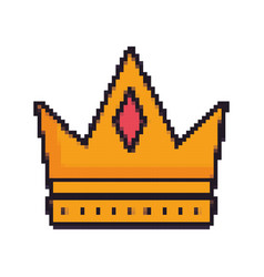 crown icon image vector image