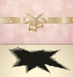 Invitation card with black hole vector