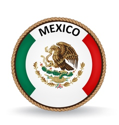 Mexico Seal vector image
