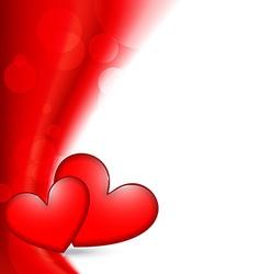shiny valentine day background vector image