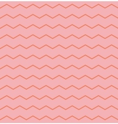 Tile pattern with zig zag on pink background vector