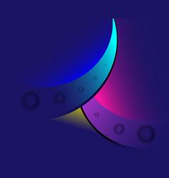 91st years anniversary logo design birthda vector image