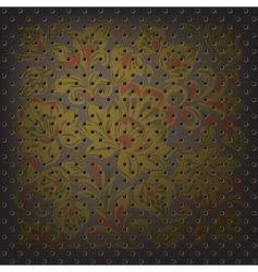 metalic mesh vector image