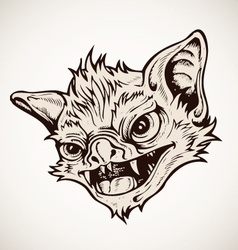 Head bat vector