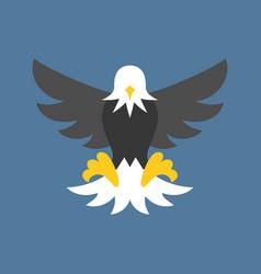 eagle icon vector image