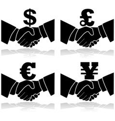 Business deal vector