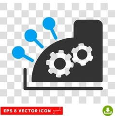 Cash Register Eps Icon vector