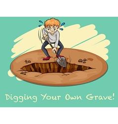 Digging vector