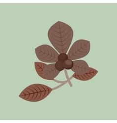 Fall season design vector