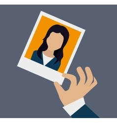 Human resources theme vector