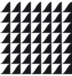 tile wave pattern background vector image vector image