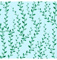 Green Trees Seamless vector image vector image