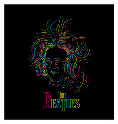 thebeatles vector image