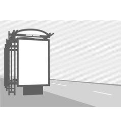 city billboard vector image