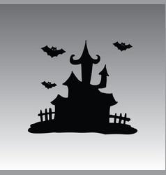 House halloween clip art vector