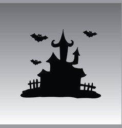 House hallowen clip art vector