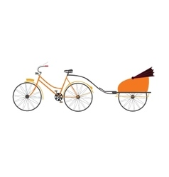 indian rickshaw travel vector image