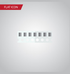 Isolated ram flat icon memory element can vector