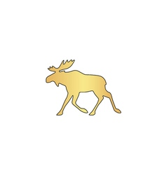 Moose computer symbol vector