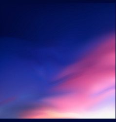 square blurred lilac background - sunset colors vector image