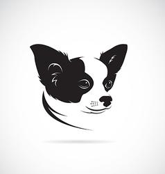 image of an chihuahua dog vector image vector image
