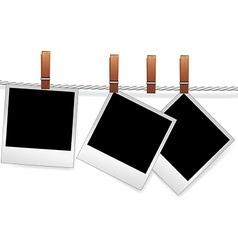 photo snapshot frame vector image