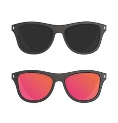realistic glasses vector image