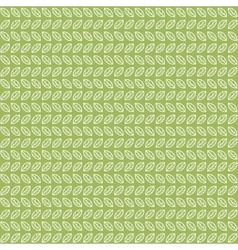 Green tea leaves pattern vector image